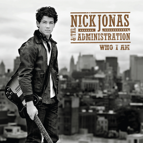 Who I Am ALBUM Cover - Different to the SINGLE Cover