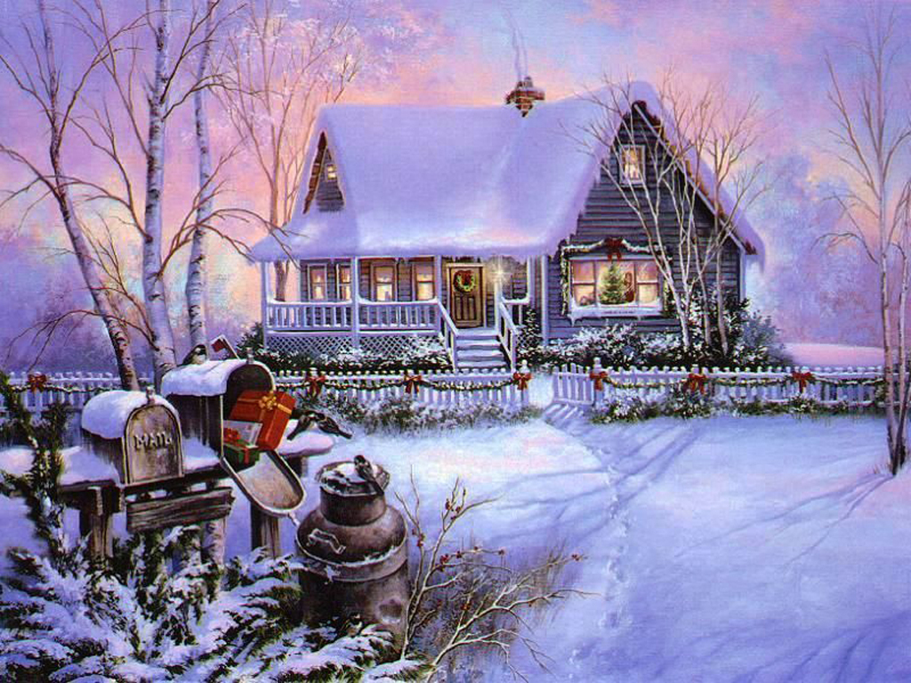 Nature 39 s seasons images winter home sweet home hd for Wallpaper home sweet home