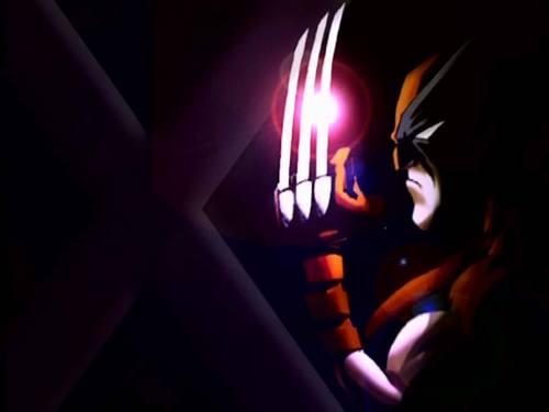Wolverine kertas dinding
