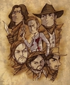 Young Guns art - young-guns fan art
