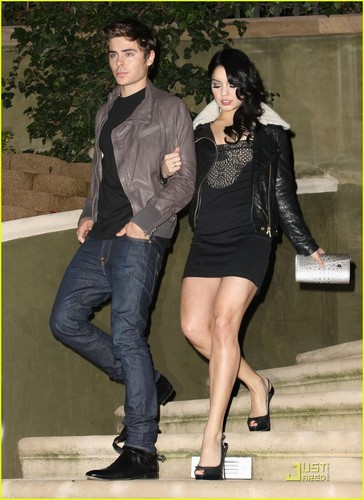 Zac & Vanessa in West Hollywood