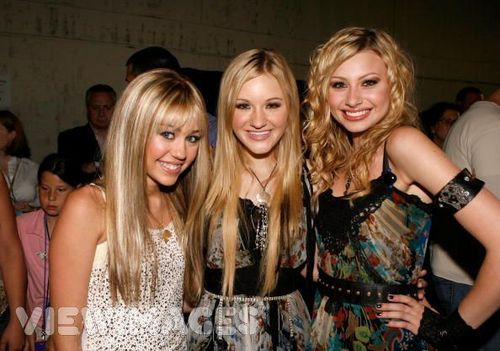 aly and aj and hannah montana