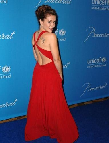 alyssa-UNICEF Ball Honoring Jerry Weintraub