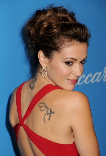 alyssa-UNICEF Ball Honoring Jerry Weintraub - alyssa-milano Photo