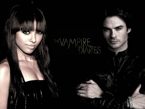 bonnie/damon - damon-and-bonnie Fan Art