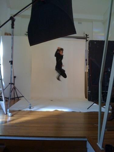 bradie sure can jump