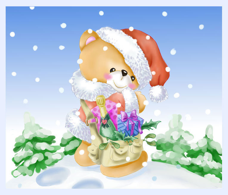 cause christmas bears are cute