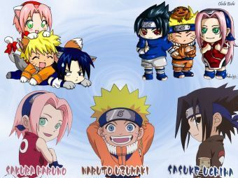 naruto Chibi's! fondo de pantalla containing anime called chibi!!!!!