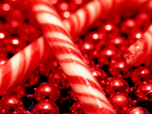christmas candy canes♥