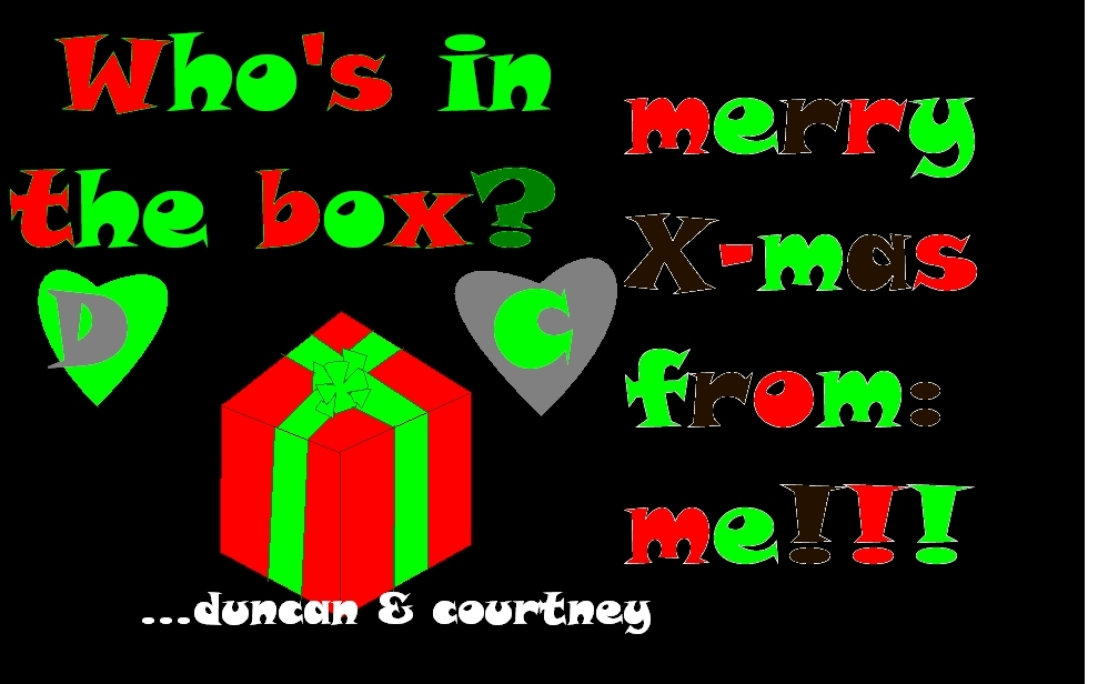 christmas card request total drama island photo 9450797 fanpop. Black Bedroom Furniture Sets. Home Design Ideas