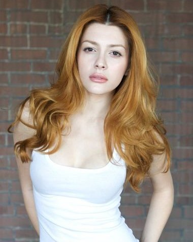 Elena Satine پیپر وال possibly with a کاک, کاکٹیل dress, a bustier, and a chemise titled elle