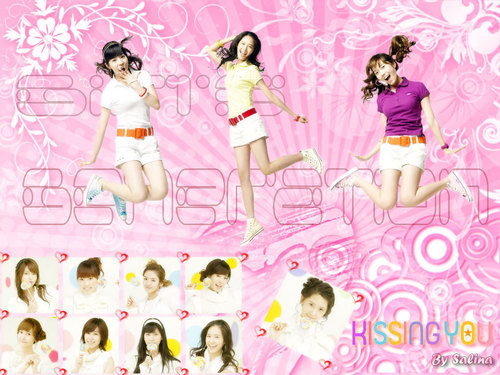 Girls Generation/SNSD wallpaper called kissing you
