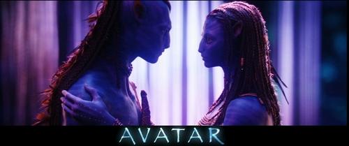 James Cameron's Avatar wallpaper entitled love scene