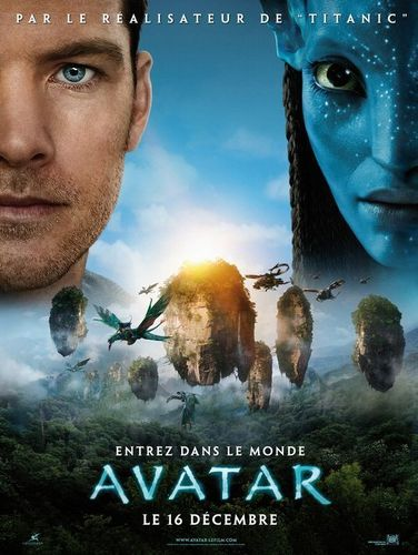 Avatar پیپر وال probably with a sign and a portrait called movie poster
