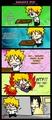 naruto an sasuke lol
