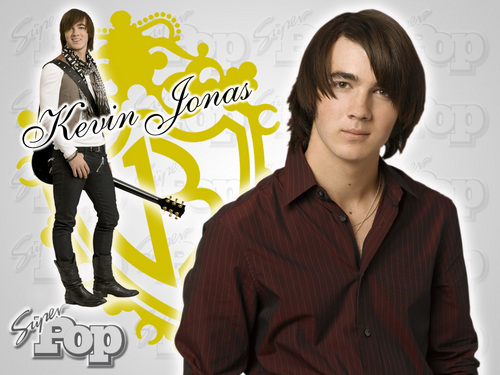 The Jonas Brothers wallpaper containing a well dressed person and a portrait titled nick joe and kevin**