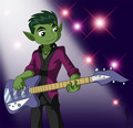 oops,..... ur just jealous coz I sound like a rockstar - teen-titans photo