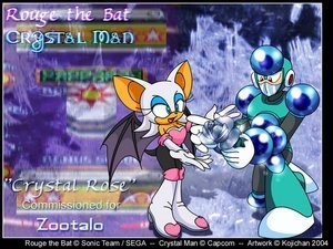 rouge and crystalman