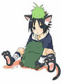 sasuke kitty cat - naruto-chibis photo