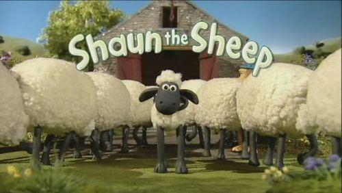 Shaun the Sheep wallpaper probably containing a hampshire titled shaun.n.friends
