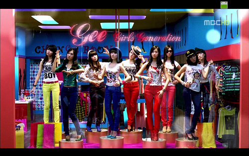 snsd gee - Girls Generation/SNSD 500x313