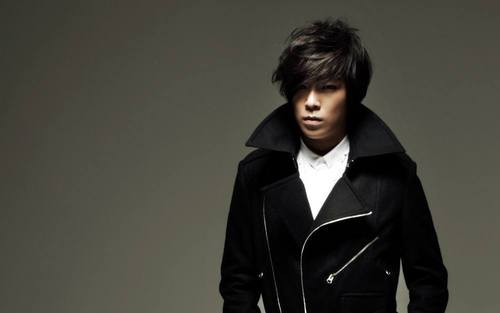 top from big bang wallpaper possibly containing a trench coat, a pea jacket, and a well dressed person titled top