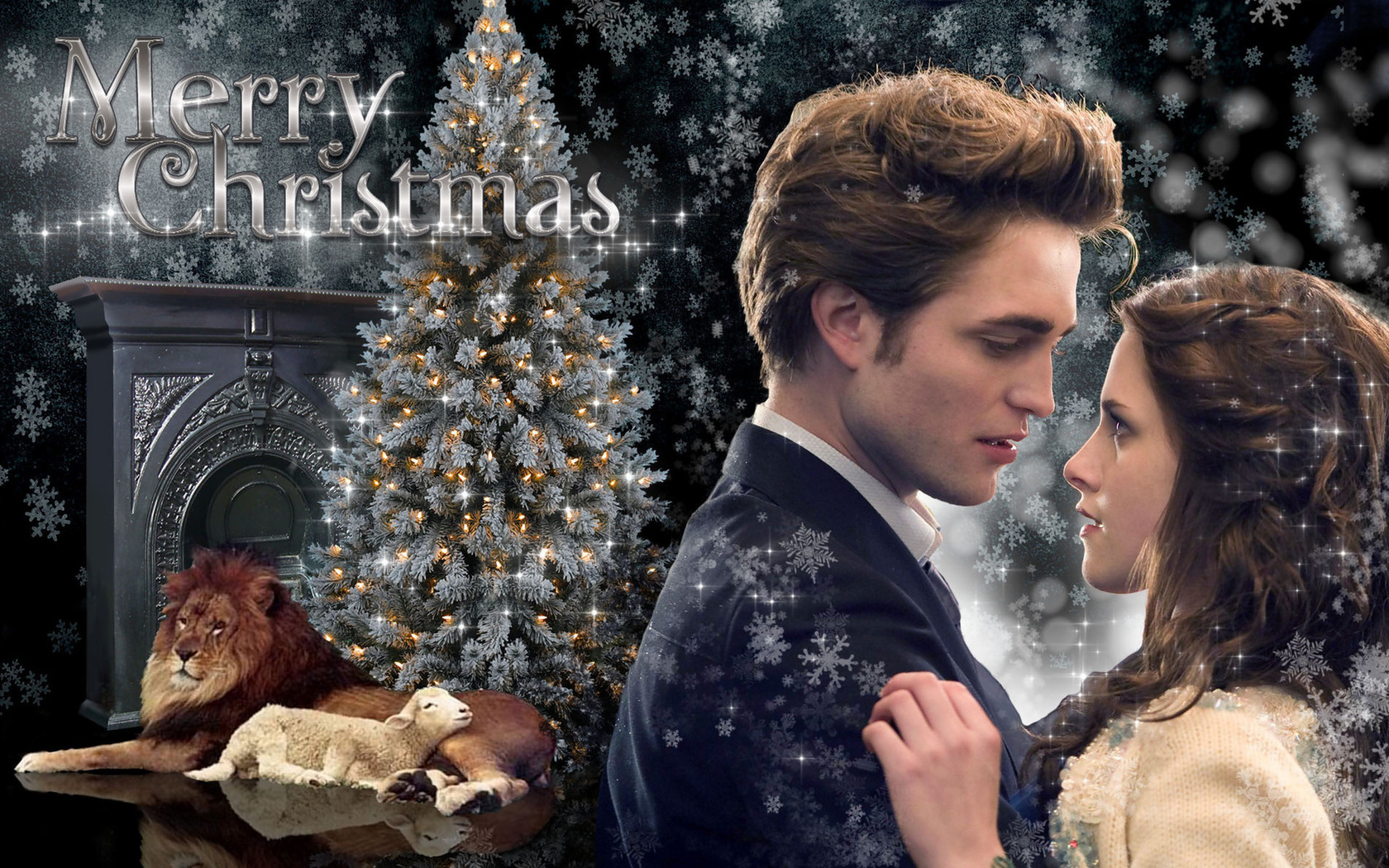 ☆:*´¨`*: Edward & Bella Lion/Lamb XMAS :*´¨`*:.☆