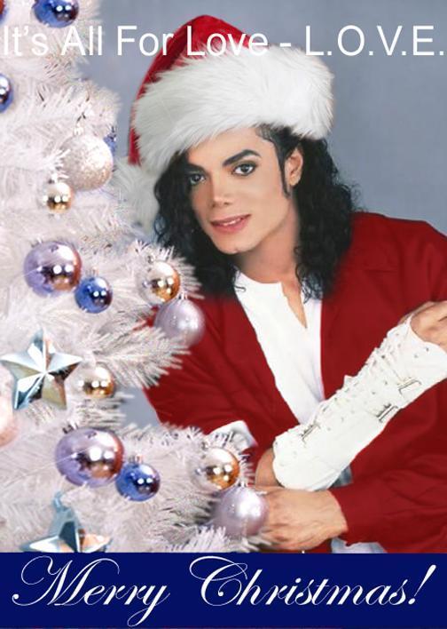 """Merry Christmas Michael!"" - michael-jackson fan art"