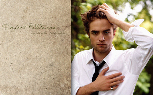 •♥• Robert Pattinson Wallpaper •♥•
