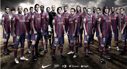 ФК Барселона Обои titled 2009/10 HQ