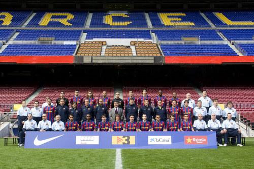 FC Barcelona wallpaper called 2009/10 HQ