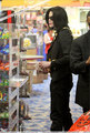 2009 > Various > Shopping at Tom's Toys - michael-jackson photo
