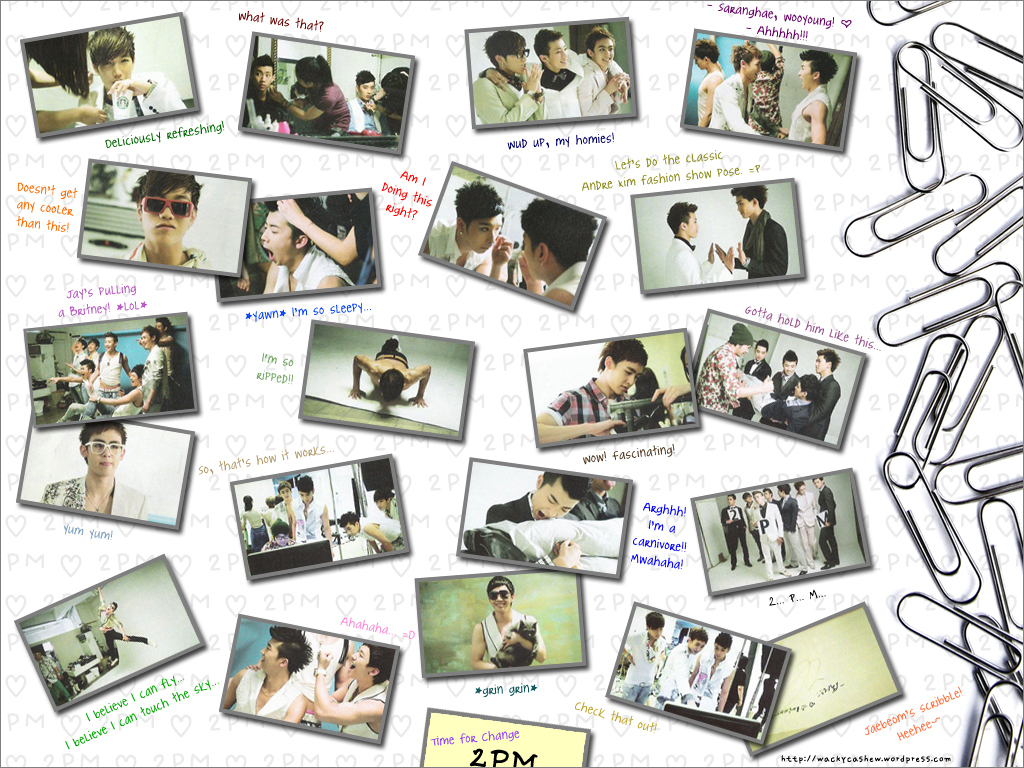 2pm  2pm Wallpaper 9565360  Fanpop