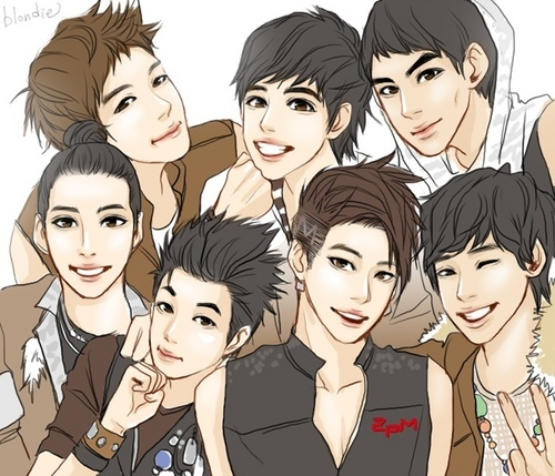 2pm.Wallpaper and background images in the 2pm club.