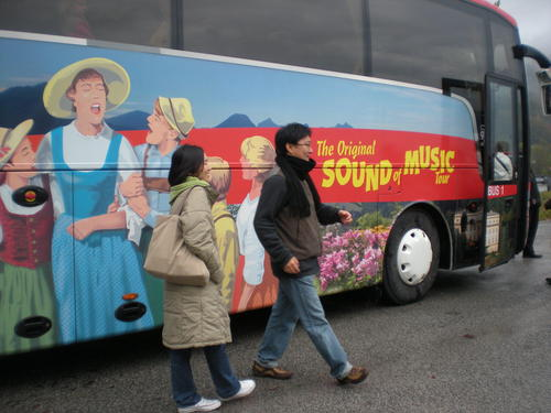The Sound Of música Tour Bus