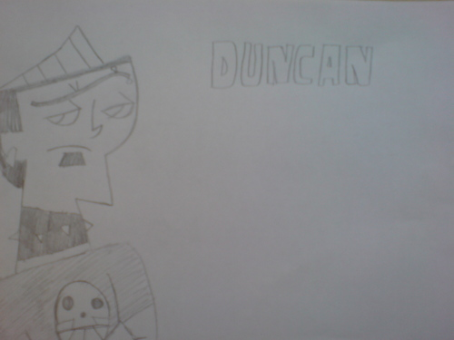 A drawing of duncan from TDI, TDA, TDtM!