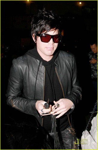 Adam shopping in Los Angeles
