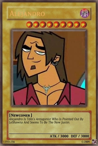 Alejandro And Seirra Yu-Gi-Oh Cards.