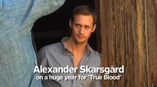 Alexander Skarsgard EW 写真 shoot