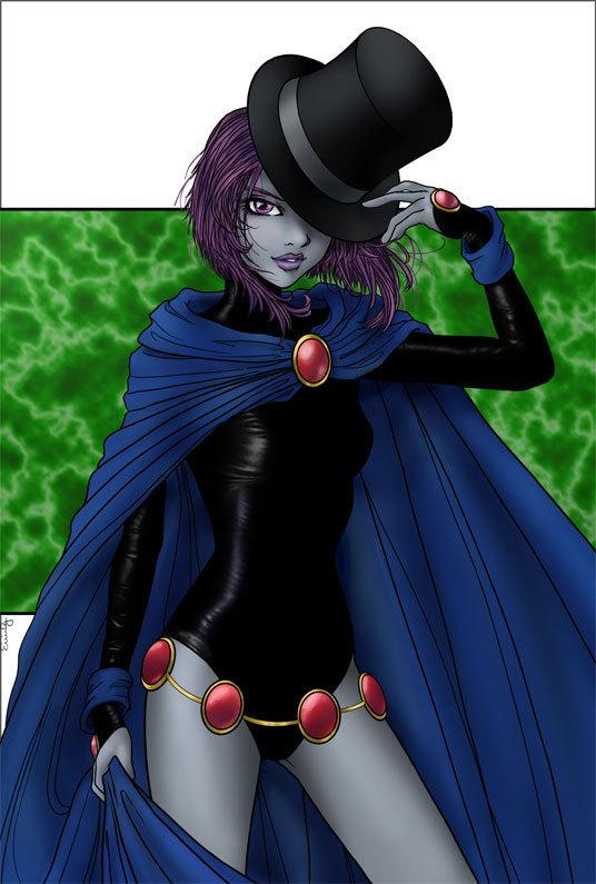 Teen Titans Raven Amazing mumbo raven - ...