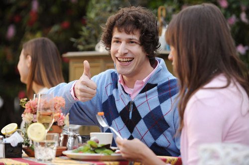 Andy Samberg wallpaper with a dinner, a holiday dinner, and a brunch called Andy Samberg
