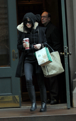 Ashlee Out in NYC