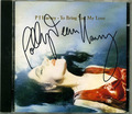 Autographed Copy of To Bring You My Love (1995) - pj-harvey photo