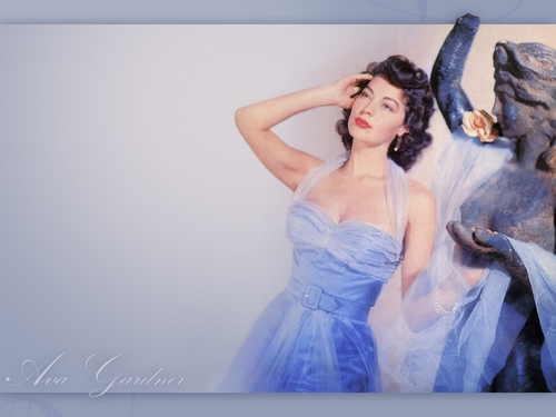 Classic Movies wallpaper with a dinner dress entitled Ava Gardner