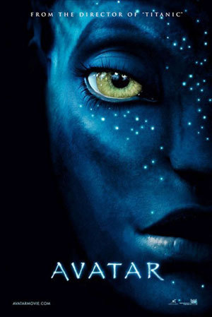 Avatar karatasi la kupamba ukuta called Avatar Movie Poster