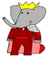 Babar - Wedding Outfit - babar-the-elephant fan art