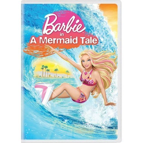 Barbie in a Mermaid Tale D.V.D cover