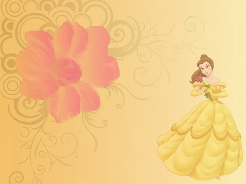 Beauty And The Beast Wallpaper Containing A Bouquet Rose Camellia Entitled
