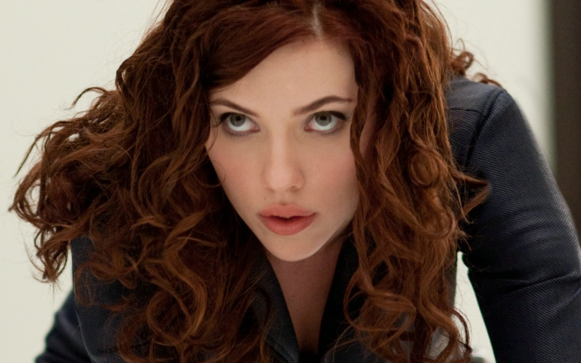 Scarlett Johansson Black Widow (Iron Man 2) Widescreen Wallpaper