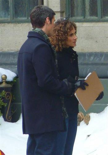 CSI:NY wolpeyper containing a barrow entitled CSI: NY-Set Photos-18th Dec